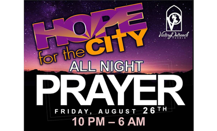 HOPE For the City – All Night Prayer