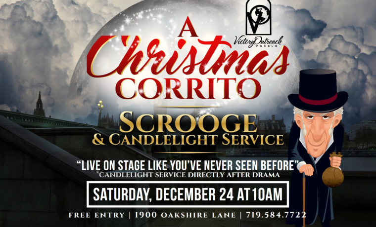 A Christmas Corrito – Scrooge and Candlelight Service