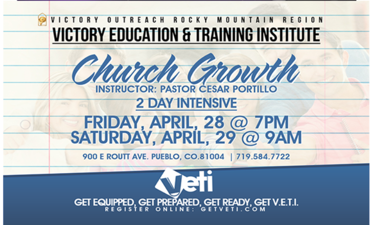 Church Growth Training Event