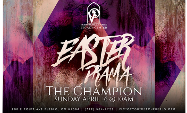Easter Drama – The Champion