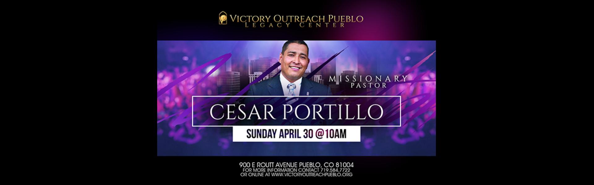 Cesar Portillo – April 30