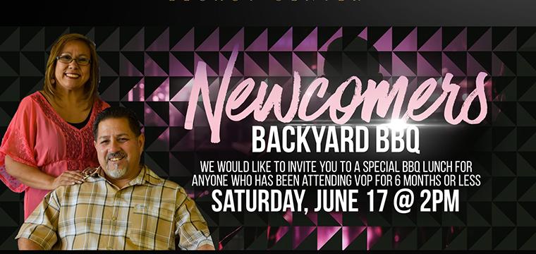 Newcomers Backyard BBQ <br /> June 17