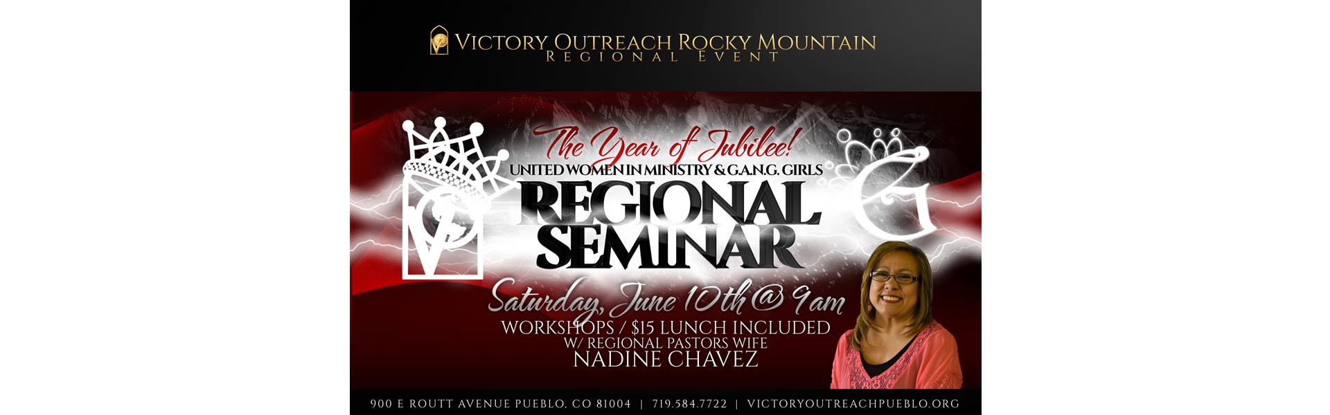 Regional Seminar June 10