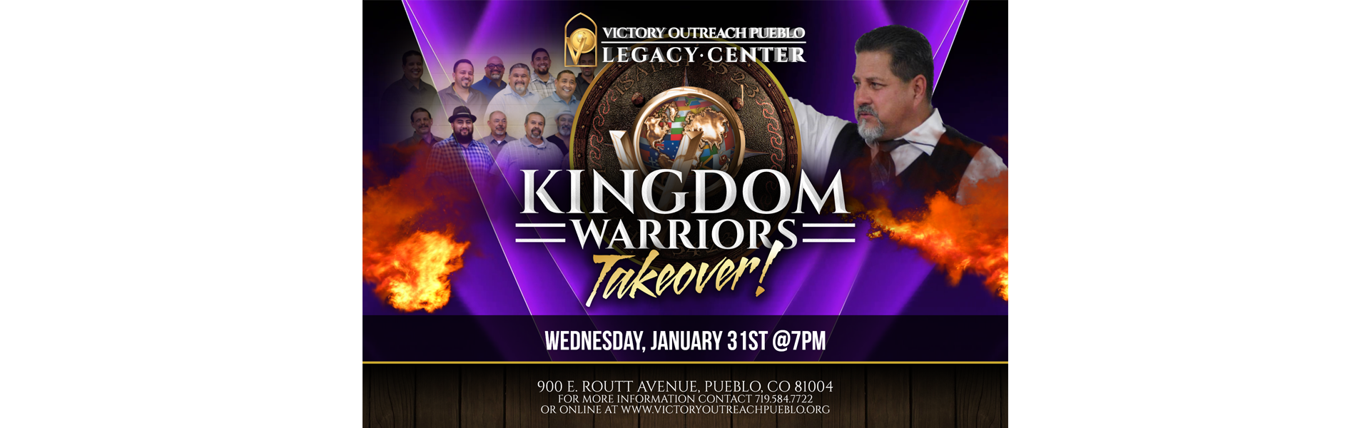 Kingdom Warriors Takeover 1/31/18
