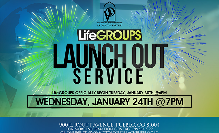 Life Groups Launchout Service