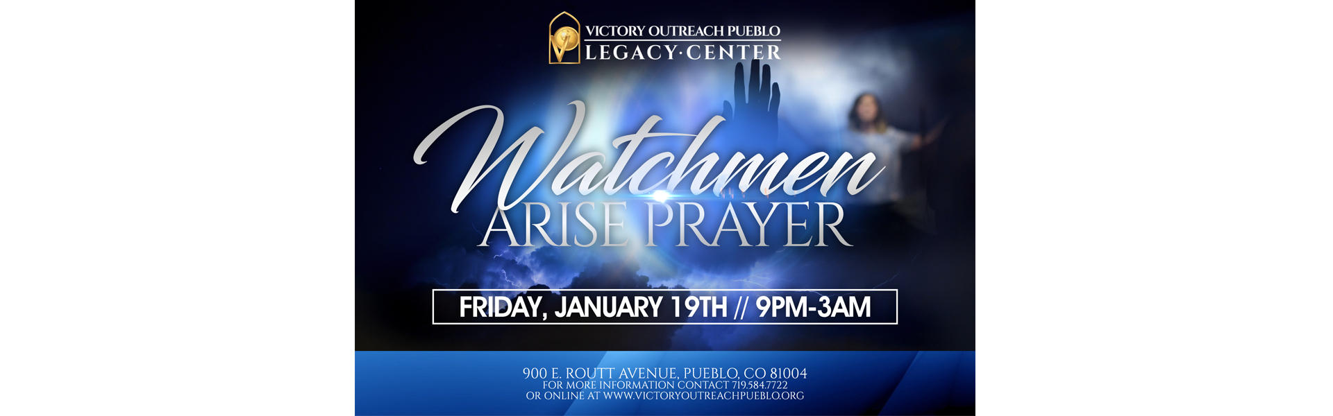 Watchman Arise Prayer 1/19/18