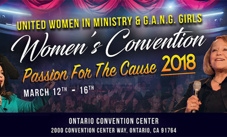 Women's Convention 2018 – March 12-16, 2018
