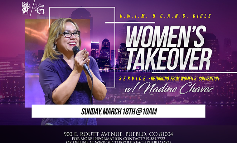 Women's Takeover Service – March 18th