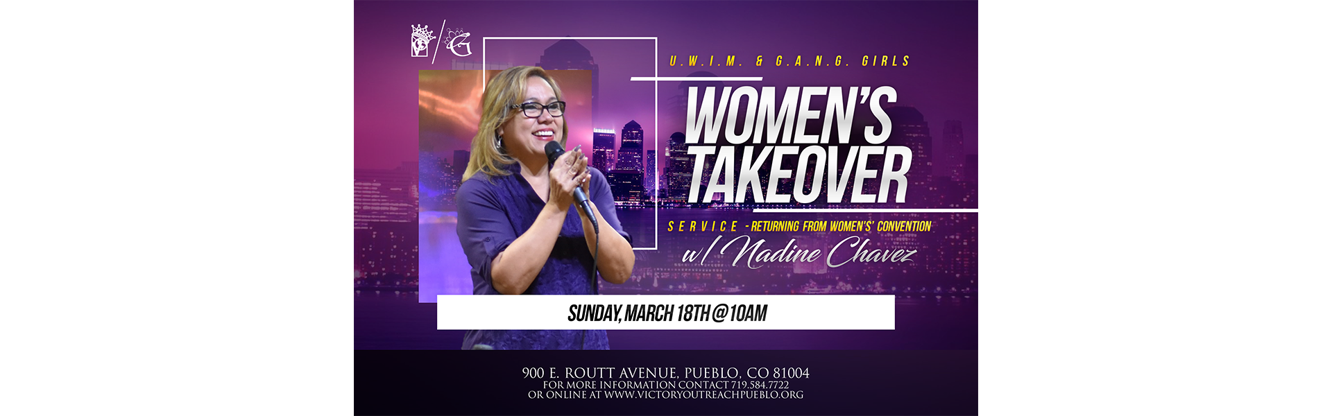 Women's Takeover 3/18
