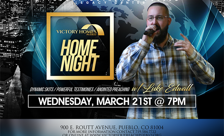 Home Night – March 21st