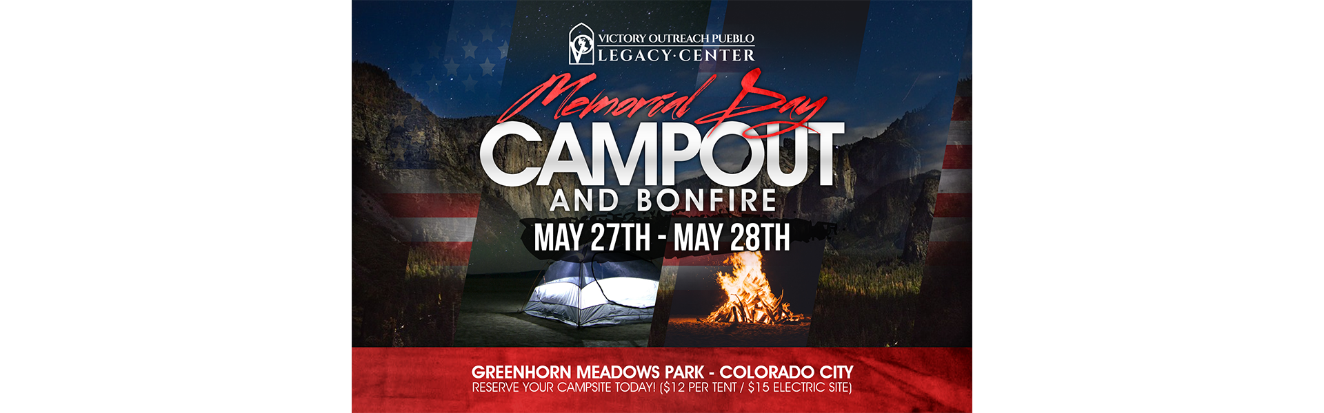 Memorial Weekend Campout – May 27