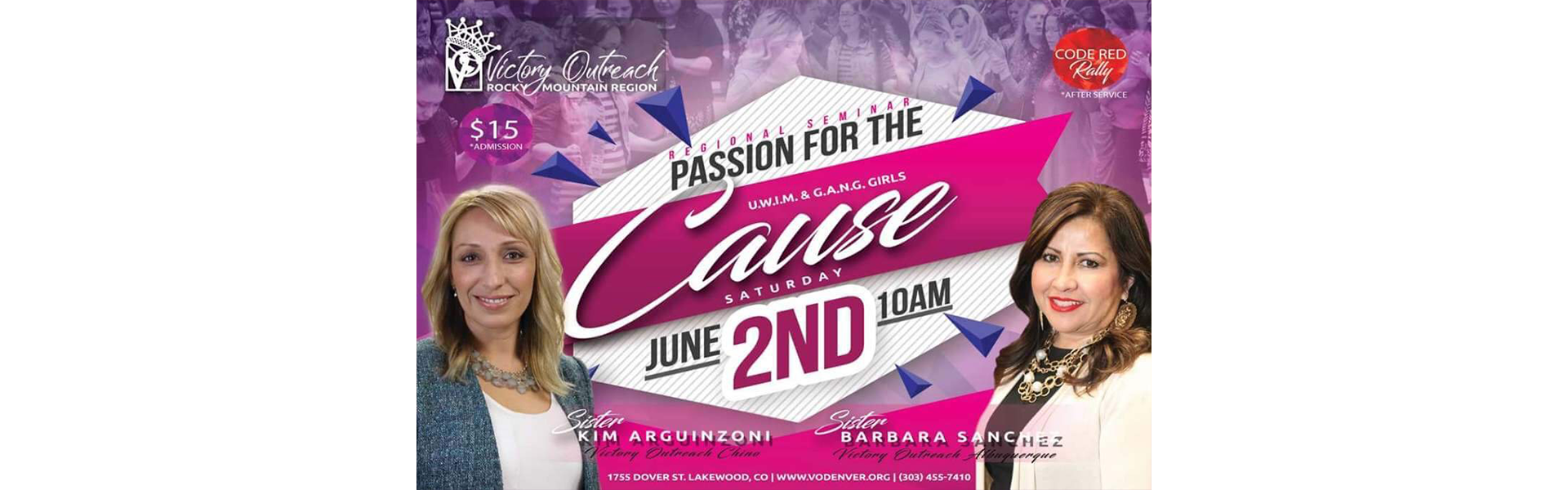Passion For The Cause – June 2nd