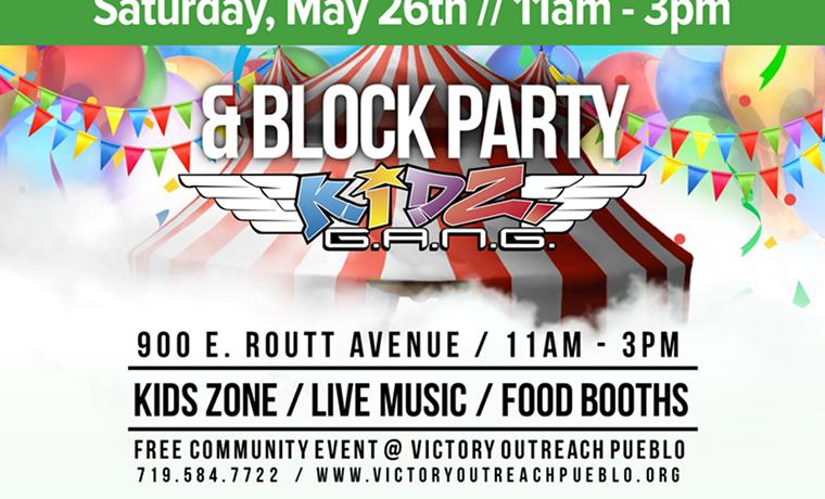 Block Party – May 26th