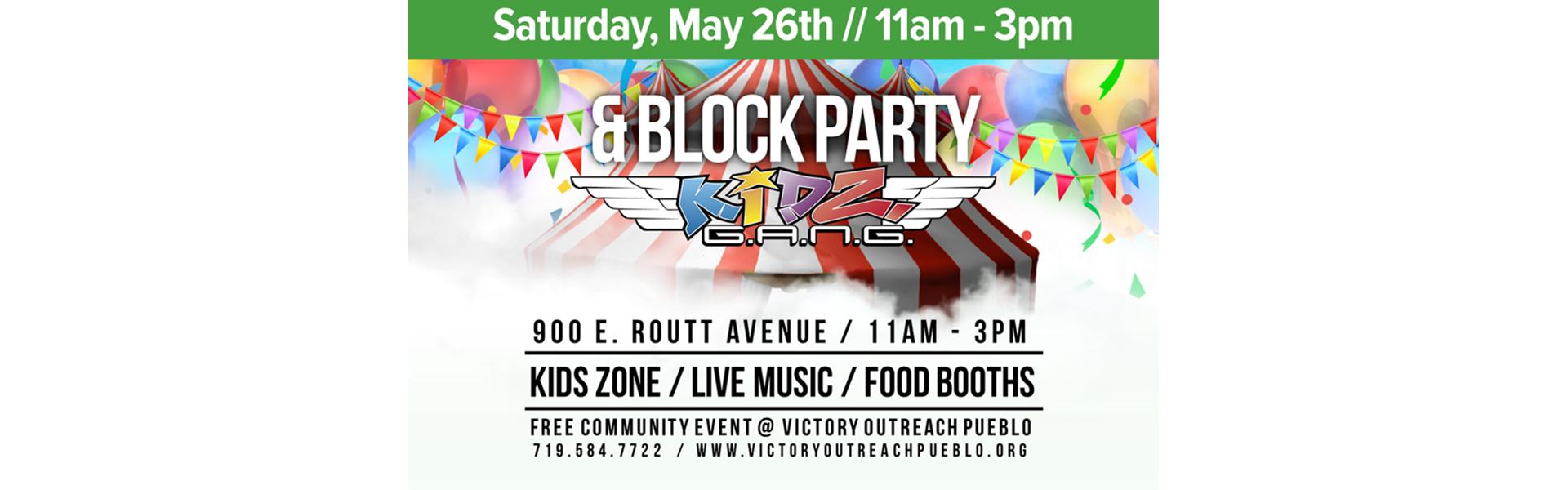 Block Party – May 26