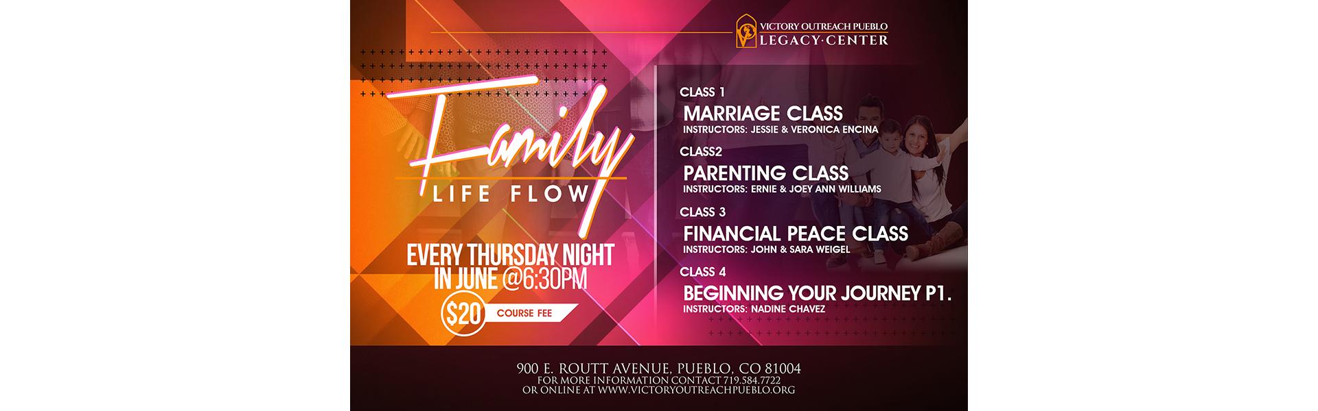 Family Life Flow – June 2018