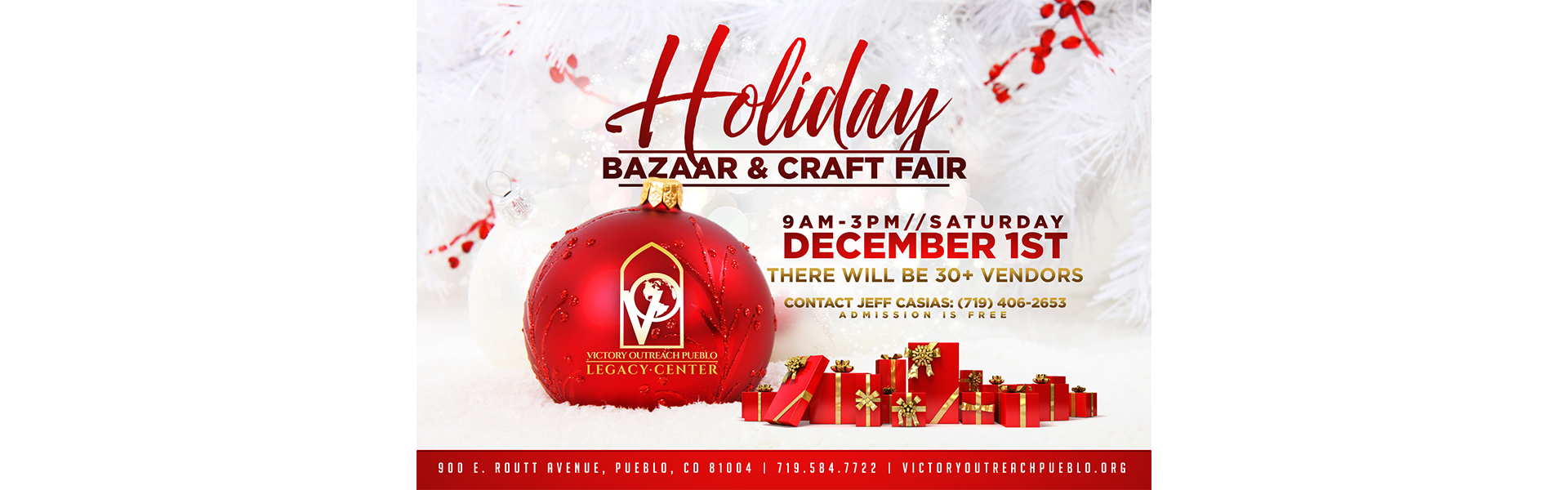 Holiday Craft Fair 12/1