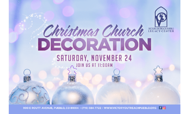Christmas Church Decoration – Nov 24th