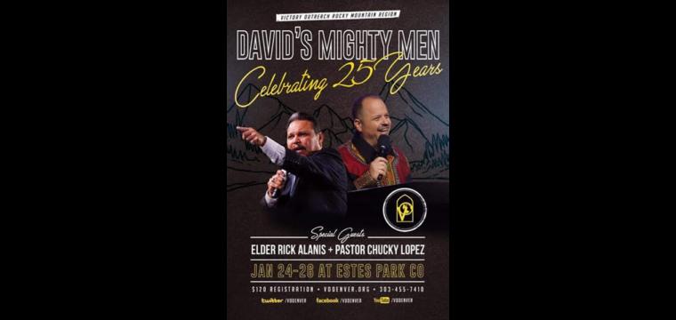David's Mighty Men Jan 24-26