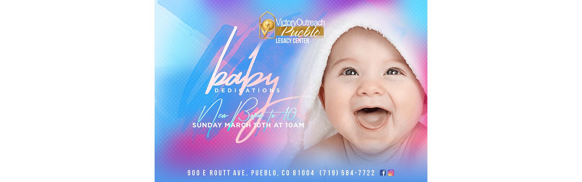 Baby Dedication Mar 10