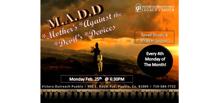 Mothers Against the Devil's Devices – Starting Monday Feb 25