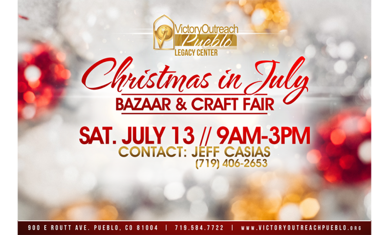 Christmas in July – July 13