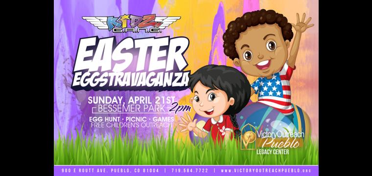 Easter Eggstravaganza – April 21