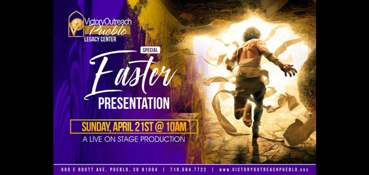 Easter Presentation Live Stage Production – April 21