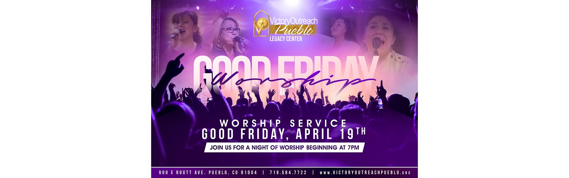 Good Friday Worship – Apr 19