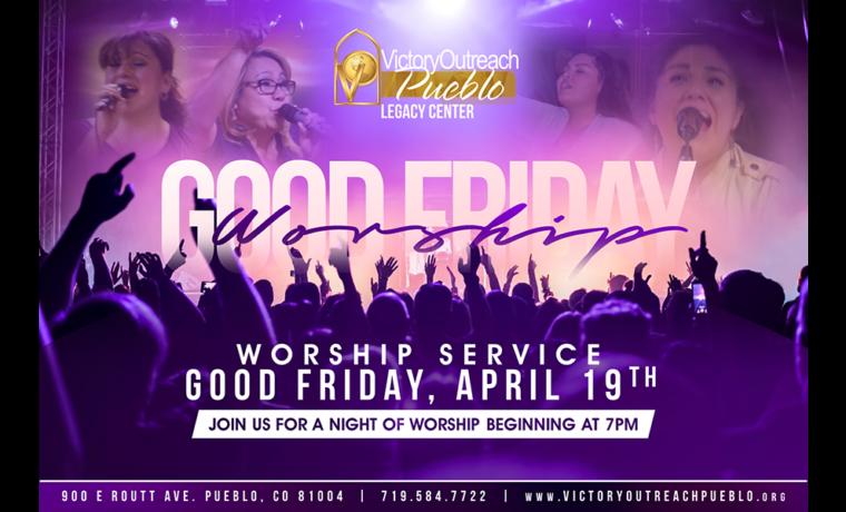 Good Friday Worship Service – April 19