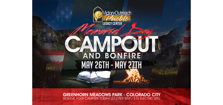 Memorial Day Campout/BonFire – May 26-27