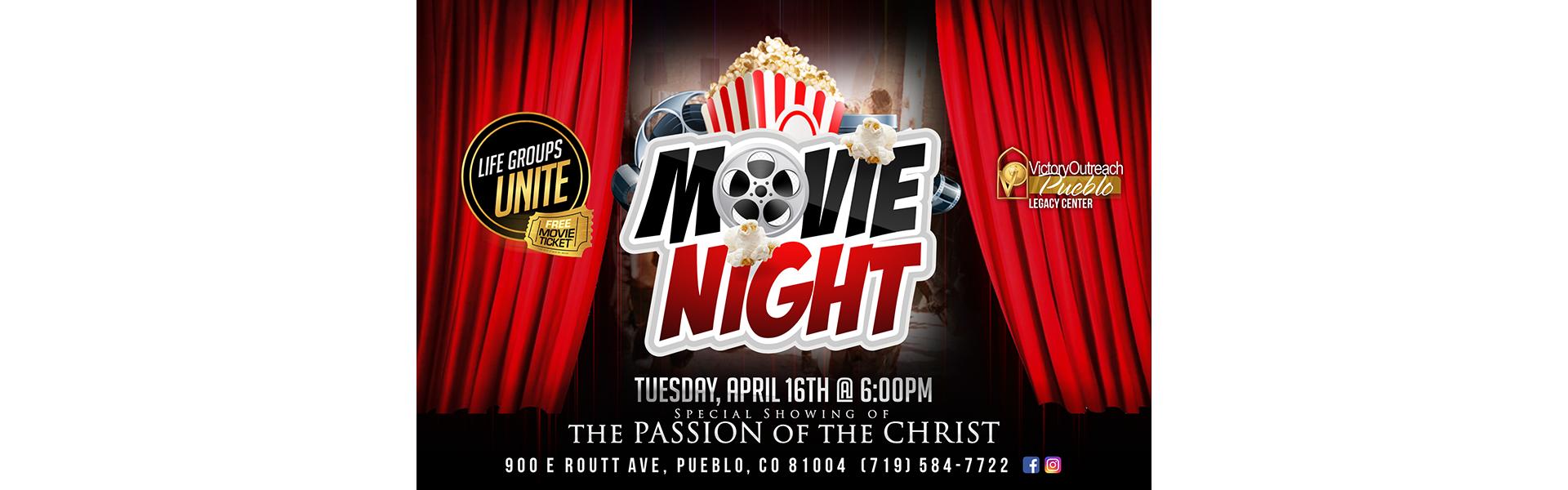 Movie Night – Apr 16