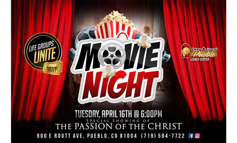 Movie Night (The Passion of the Christ) – April 16