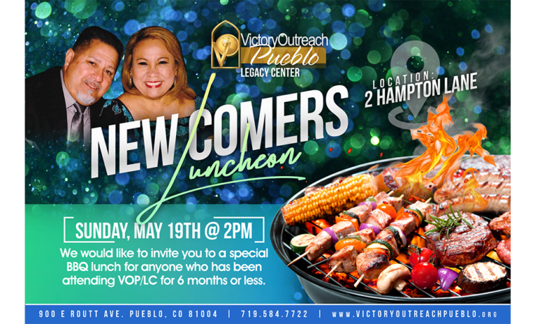New Comers Luncheon – May 19