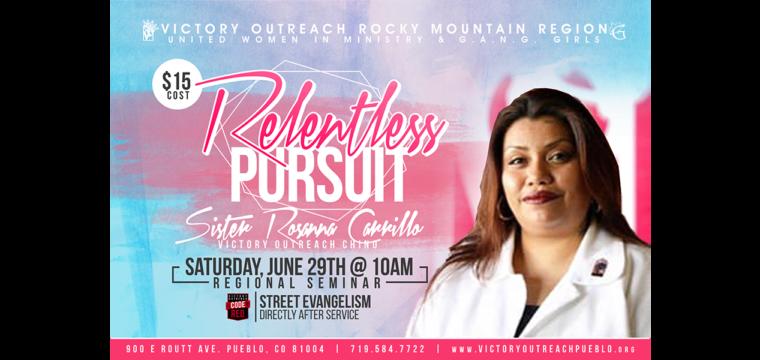 Relentless Pursuit – June 29