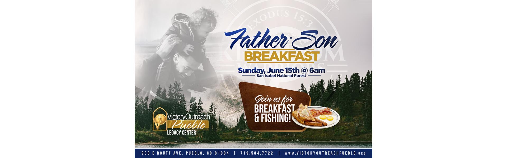 Father/Son Breakfast – Jun 15