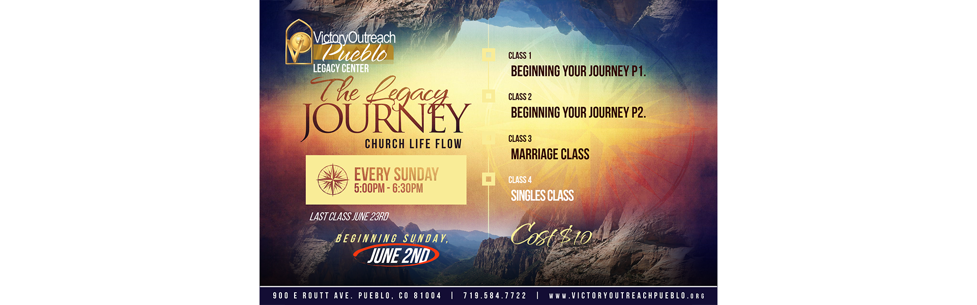Journey Classes Starts June 2, 2019