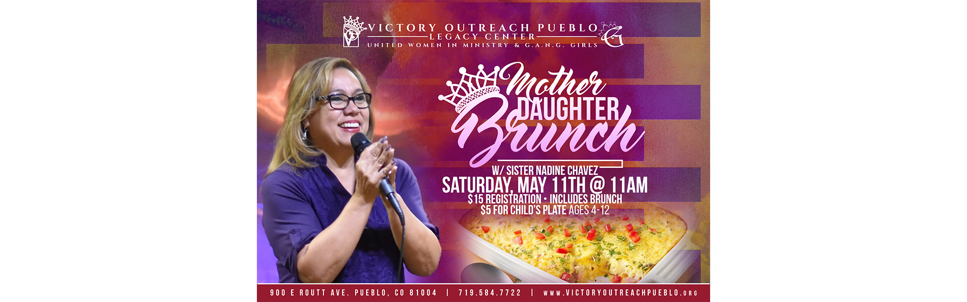 Mother Daughter Brunch May 11
