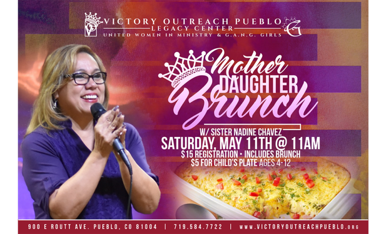 Mother/Daughter Brunch – May 11