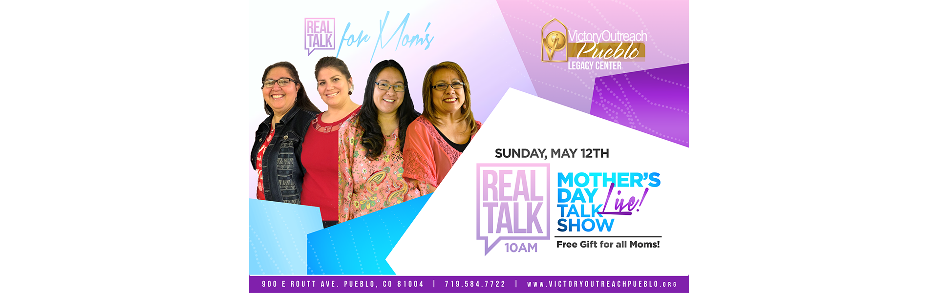 Mother's Day Talk Show REAL TALK May 12
