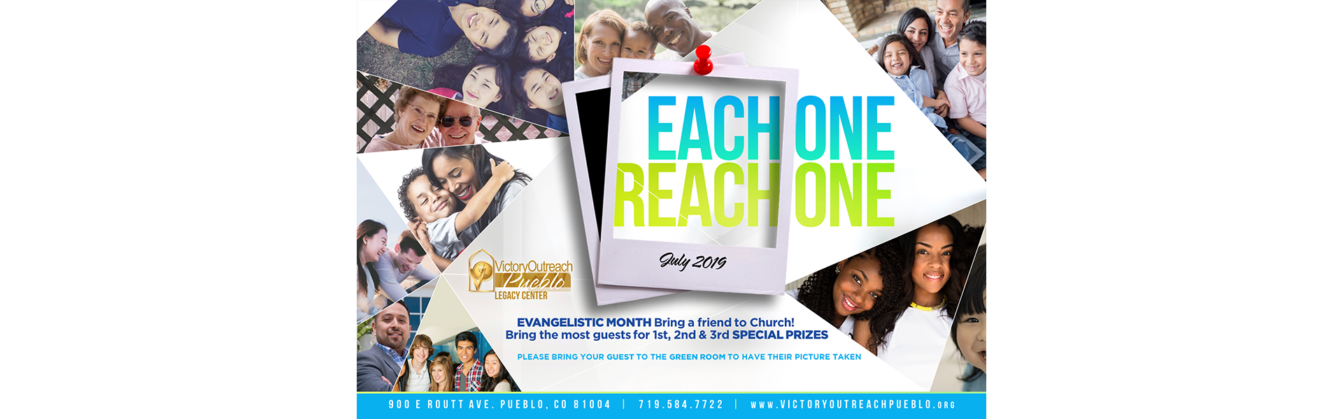 Each One Reach One – July