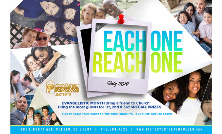 Each One Reach One – Month of July