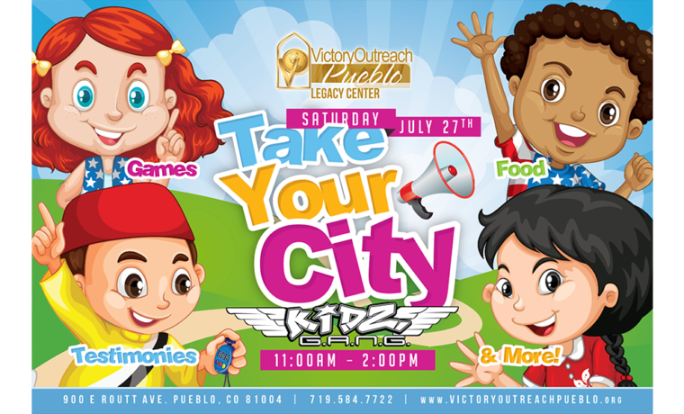 Take Your City Kidz G.A.N.G. – July 27