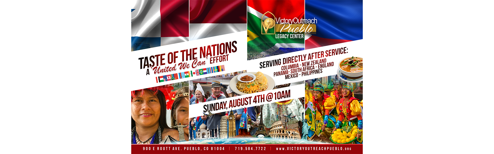 Taste of The Nations – August 4