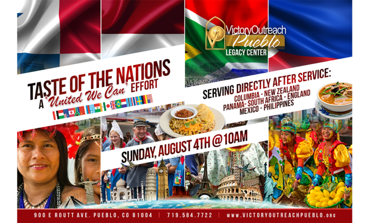 Taste of the Nations – Aug. 4