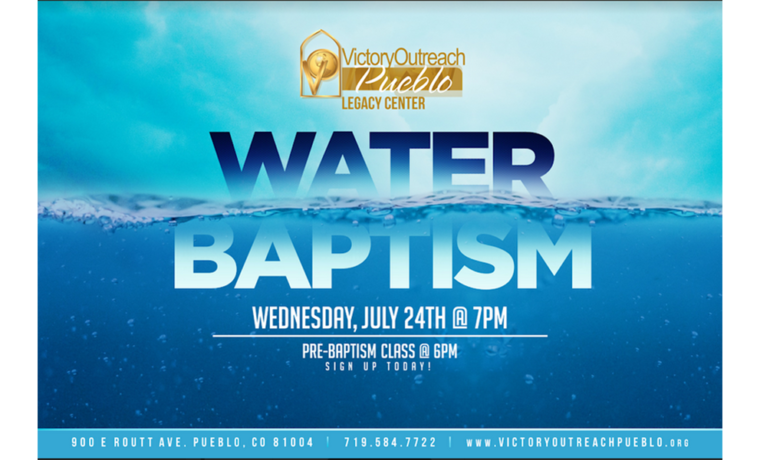 Water Baptism – July 24