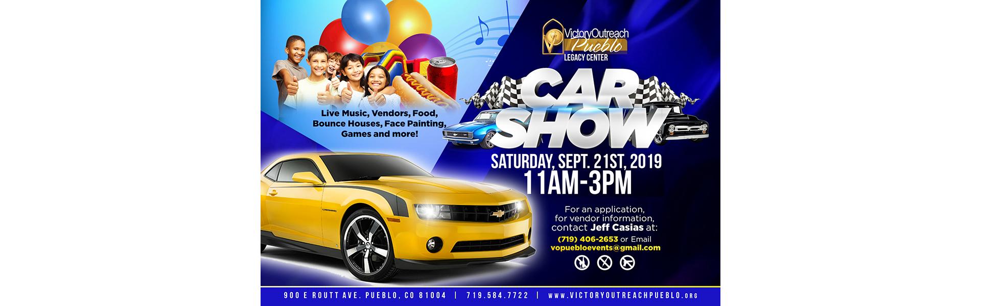 Car Show – Sept 21