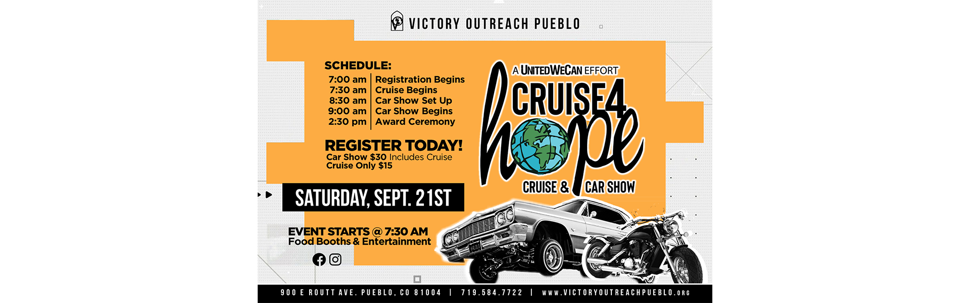 Cruise4Hope – Sept. 21