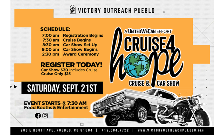 Cruise 4 Hope – Sept. 21