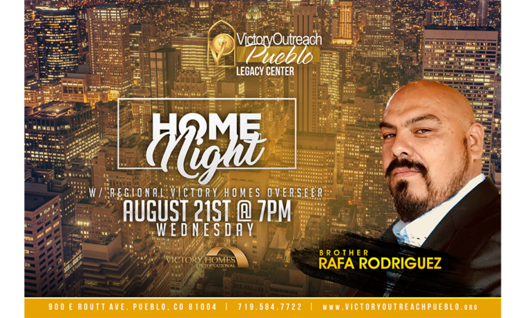 Home Night w/ Rafa Rodriguez – Aug. 21