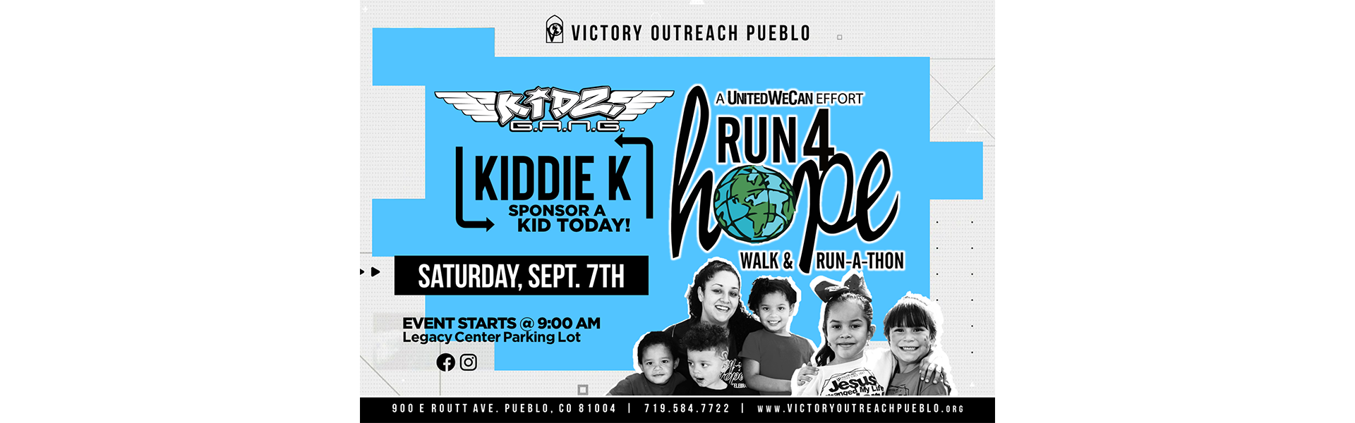 Run 4 Hope – Sept. 7